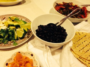 Fragrant Black Bean Tacos