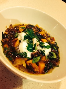 Lentil Soup with Preserved Lemon