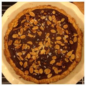 Honey almond pie; aka Baklava's sexy sister