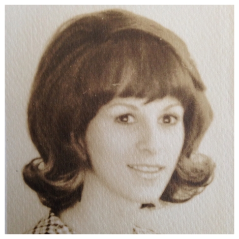 My beautiful mother, back in the 60's.