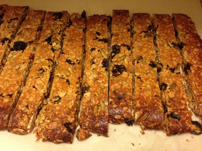 Cherry Tahini Bars