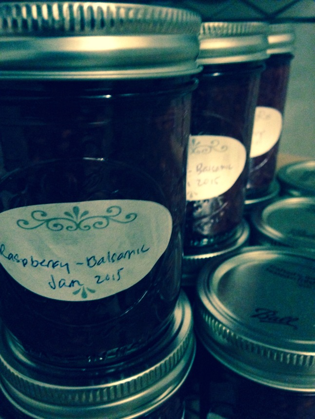 Raspberry Balsamic Preserves